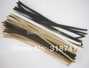 "12""6mm 50pcs Bronze Tones Pipe Cleaners Handmade Diy kids Creativity handicraft toy"