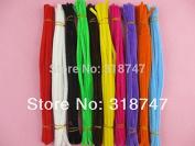"12 ""6mm 100 unids colores mezclados Pipe Cleaners artesanal DIY materiales"