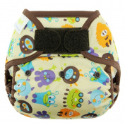 Blueberry Basix All in One Nappies, Monsters, Large