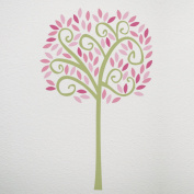 CoCaLo Audrey Jumbo Tree Wall Decal Set, Pink