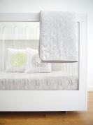 Spot On Square Spun Organic Cotton Twill Quilt, Grey