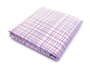 Spot On Square Hashtag Organic Cotton Percale Fitted Crib Sheet, Pink
