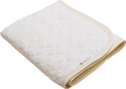 EMOOR Cotton Gauze Quilted Fitted Pad (90cm x 120cm ). Made in Japan