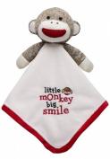 Little Monkey Big Smile Sock Monkey Lovey