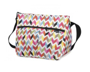 PackIt Baby Freezable Shoulder Bag for Bottles, Ziggy Print