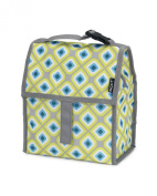 PackIt Baby Large Freezable Bottle Tote, Geometric Print