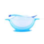 C-Pioneer Baby Toddler Suction Bowl Temperature Colour Changing Spoon Feeding Tool