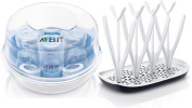 Philips Avent Microwave Steam Steriliser with Drying Rack