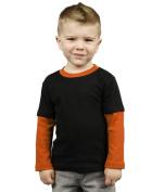 MONAG 2-Colour Long Sleeve Infant T-Shirt