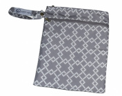 Pumparoo Pouch for Breast Pump Parts, Wet Dry Bag By Sarah Wells