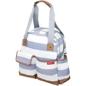 Ipack Baby Bowling Large and Roomy Baby Nappy Bag Tote, Grey