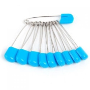Household Mall Pack of 100 Pcs Cloth Nappy Pins Stainless Steel Traditional Safety Pin