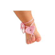 Evelin LEE Baby LOVELY Handmade Wool Crochet Knit Flower Handband cute shoot shoe