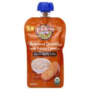 Earth's Best Organic Stage 2, Sweet Potato & Cinnamon Breakfast, 120ml Pouch