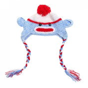 Happy Cherry Newborn Baby Infant Crochet Knit Hat Photography Prop Costume