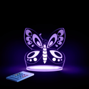 Butterfly Night Light, LED 12 colours with interactive remote