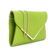 Animal Print Designer Flat Envelope Evening Clutch Bag Womens Ladies