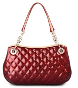Zzfab Designer Style Purse Puffy Shinny Small Shoulder Bag