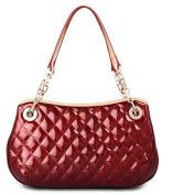 Zzfab Designer Style Purse Puffy Shinny Small Shoulder Bag