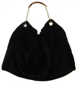One Big Bag - Soft Material with Chain and Bamboo Handle