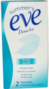 Unisex Summer'S Eve Douche Fresh Scent Cleanser - Summer'S Eve Douche Fresh Scent Cleanserdouching Solution. 2 X 130ml