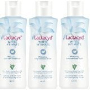 3 x 150 ml LACTACYD WOMEN FEMALE FEMININE WHITE INTIMATE WHITENING WASH WHITENS. World Wide