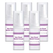 Hot Flash Relief Cream 5 Bottles