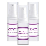 Hot Flash Relief Cream 3 Bottles