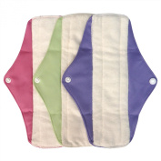 LBB Reusable Washable Menstrual Pads Medium Size,3 pads pack