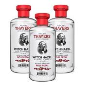 Thayers Alcohol-free Rose Petal Witch Hazel Toner (6 Pack) 350ml Bottles