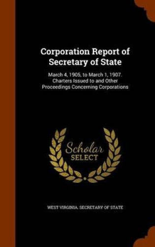 Corporation-Report-of-Secretary-of-State-March-4-1905-to-March-1-1907-Chart