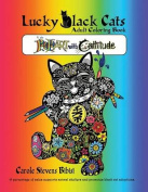 Lucky Black Cats Adult Coloring Book