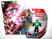 """Green Lantern Gift Pack !! EXCLUSIVE Justice League Action Figure & COLLECTIBLE DC Comic Book """" Justice Society Of America"""" Issue #15-June 2008"""