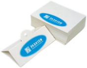 Jewellery Hanging Tags with Blue Fashion Logo - Pack of 100
