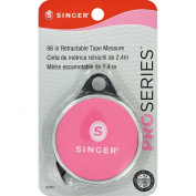 Singer Pro Series Retractable Pocket Tape Measure, 240cm