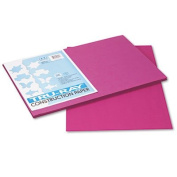 Tru-Ray Construction Paper, 34kg., 12 x 18, Magenta, 50 Sheets/Pack, Sold as 50 Sheet