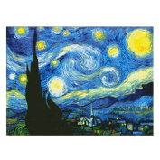 Van Gogh The Starry Night 11CT Stamped Cross Stitch Kit