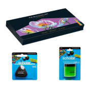 Prismacolor Deluxe Coloured Pencil Drawing Kit - 150 Premier Soft Core Coloured Pencils in an Easel Stand Case, Pencil Sharpener, Artists Eraser
