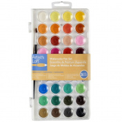 Artist's Loft Fundamentals Watercolour Pan Set
