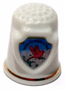 North Carolina State Souvenir Collectible Lpco Thimble