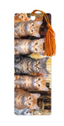 Dimension 9 3D Lenticular Bookmark with Tassel, Ginger Kittens, Pet Breed Series