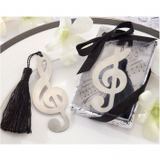 Osko® Metal Music Bookmark with Elegant Silk Tassel