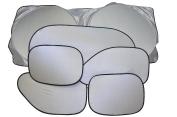 REINDEAR Car Side Rear Window Sunshade Sun Shade Cover Visor Shield Screen Black Mesh US Seller