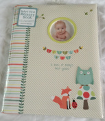 C R Gibson Unisex Babys First Memory Book