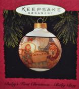 Hallmark Keepsake Ornament Baby's First Christmas Baby Boy 1994 QX2436