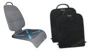 BRICA Seat Guardian Car Seat Protector (1) + Deluxe Kick Mats