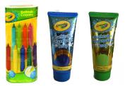Crayola Bathtub Crayons 9 ct + Crayola Bathtub Fingerpaint Soap 2 ct