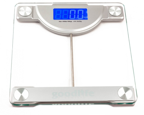 Gl precision digital bathroom scale w extra large display 180kg capacity and ebay for Large capacity bathroom scale