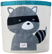 3 Sprouts Storage Bin, Raccoon