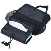 HJUNS Car Seat Organiser,Auto Seat Back Organiser, Multi- Pocket Travel Storage Bag Car Seat Back Drinks Holder /Storage Bag